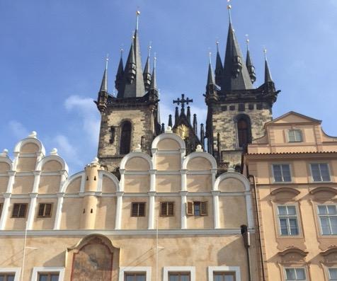 Prag Gamla stan 1