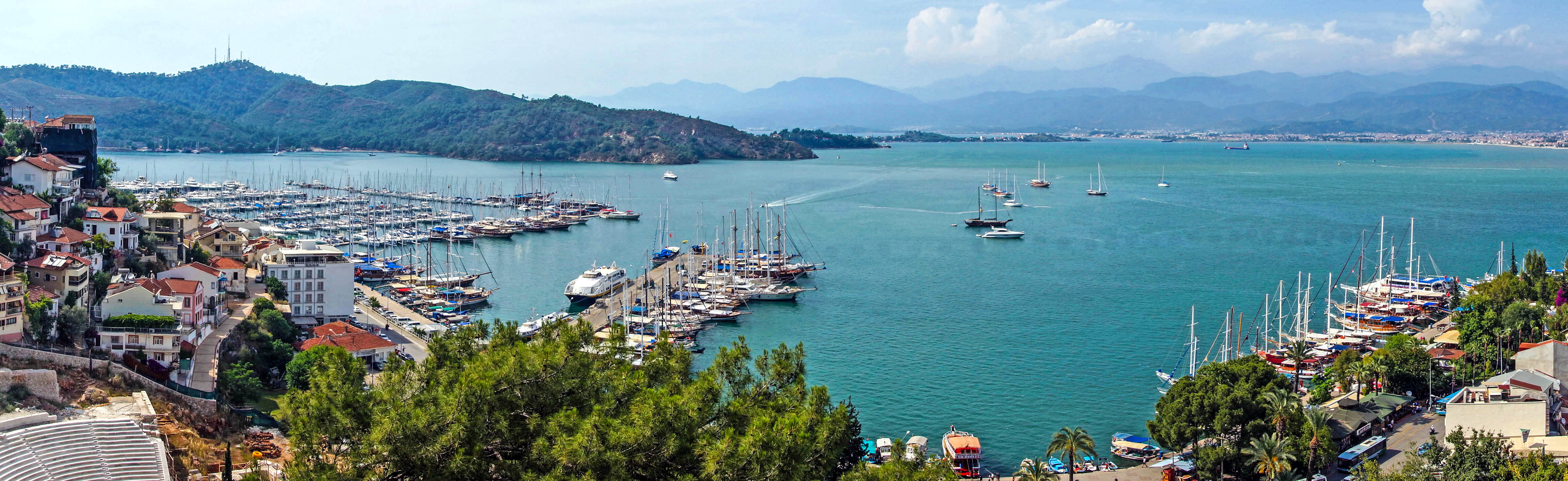 harbor of Marmaris