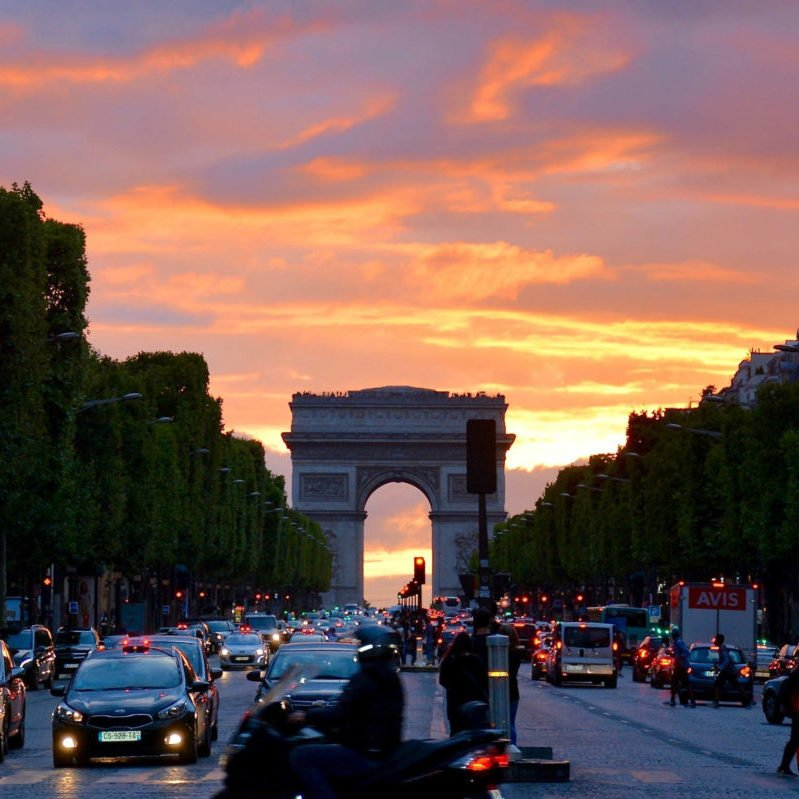 Paris 6.6 arc-de-triomphe