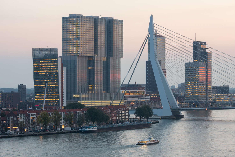 Rotterdam De Rotterdam Erasmus Bridge