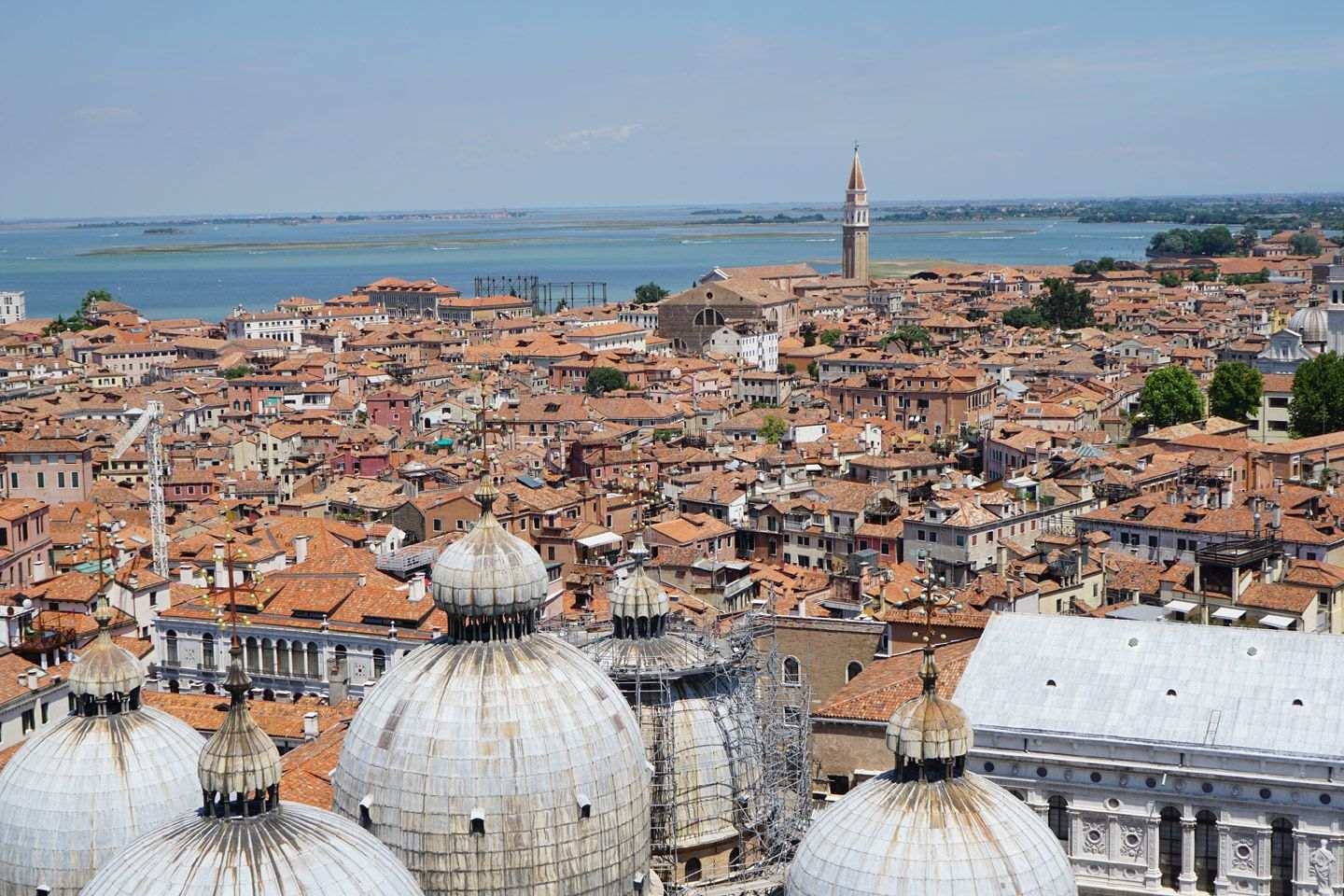 Venice arial view - gallery